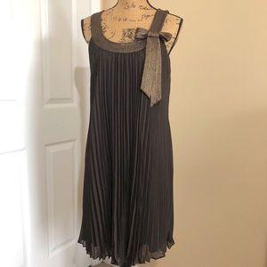 Dressbarn Pleated Dress